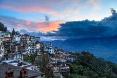 Slums of a mountain village in China Royalty Free Stock Image