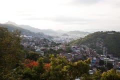 Slums in Rio de Janeiro. Slums spreading across the landscape Royalty Free Stock Image