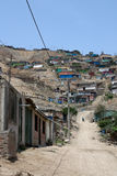 Slums, South America, Lima Royalty Free Stock Photos