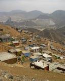 Slums, South America, Lima stock image