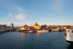 Sluseholmen w Kopenhaga schronieniu Zdjęcie Royalty Free