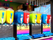 Slush dispensers. Royalty Free Stock Photos