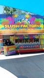 Slush Factory Stock Photo