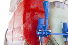 Slush Machines Stock Photo