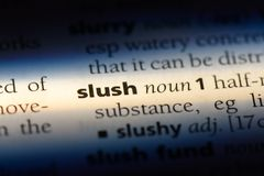slush royalty free stock photo
