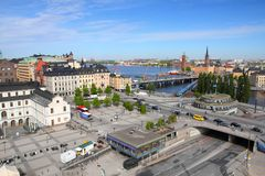 Slussen, Stockholm Stock Photos