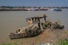 Slut av livfartyg Royaltyfri Bild