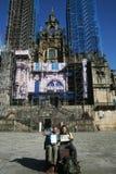 Slut av pilgrimsfärden Arkivfoto