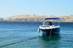 Slut av sommarsäsongen i Senj, Kroatien Arkivfoton