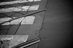 Slut av spår Fotografering för Bildbyråer