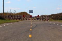 Slut av Texas Highway 87 Royaltyfri Foto