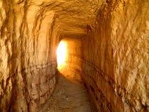 Slut av tunnelen Arkivbilder
