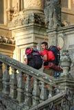Slut av vägen - Santiago de Compostela Fotografering för Bildbyråer