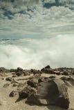 Slut av världen på Mountet Saint Helens Arkivfoto