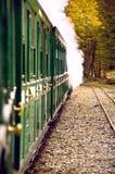 Slut av världsdrevet (den Tren fena del Mundo), Tierra del Fuego, Patag Royaltyfria Bilder