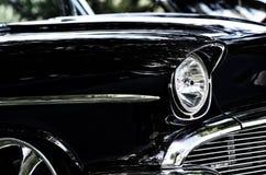 Slut för antik bil upp fotografering för bildbyråer