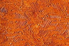 Slut för apelsinpapperstextur upp Arkivfoton