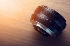 Slut för lins för Digital kamera upp Arkivfoton