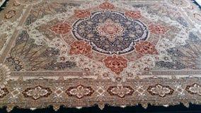 Slut för persisk matta upp Arkivbild
