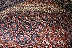 Slut för persisk matta upp Royaltyfri Foto