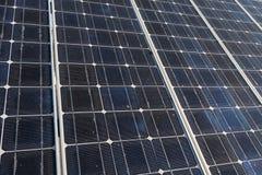 Slut för sol- cell upp Royaltyfri Bild