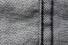 Slut för texturjeanstextil upp Royaltyfri Foto
