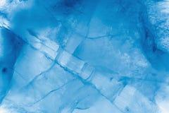 Slut f?r makro f?r istexturbakgrund upp i solljus H?rliga abstrakta modeller av djupfryst vatten arkivfoton