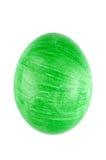 Slut upp ägget som isoleras på vit bakgrund Royaltyfria Bilder