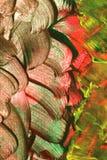 Slut upp av abstrakt begrepp målad bakgrund Royaltyfria Bilder