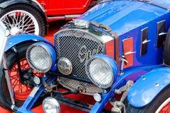 Slut upp av bilden för materiel för Ford tappning den bil- Arkivfoton