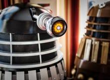 Slut upp av Dalek Arkivfoto