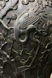 Slut upp av den kinesiska vasen Arkivfoto