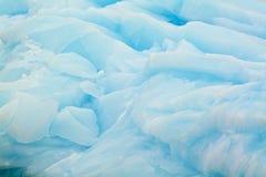 Slut upp av det antarktiska isberget Royaltyfri Foto