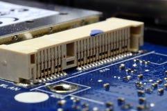 Slut upp av elektroniska delar för dator Royaltyfri Fotografi