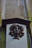 upp av en forntida hästspringbrunn Royaltyfri Bild