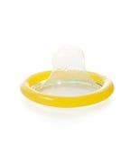 Slut upp av en kondom Royaltyfria Foton