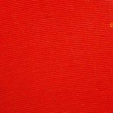 Slut upp av en röd vinylmicrogroove Arkivfoton