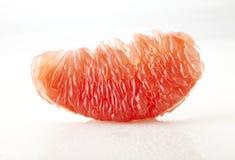 Slut upp av grapefruktträmassa Royaltyfri Bild
