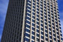 Slut upp av kontorsbyggnad för 201 Elizabeth Street Sydney Arkivfoto