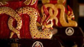 Slut upp av konungen av Nagas Royaltyfri Bild