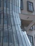Slut upp av Nationale-Nederlanden byggnad Arkivbilder