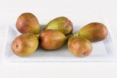 Slut upp av nya fikonträd mogna figs Royaltyfri Foto