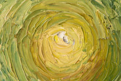 Slut upp av olje- målning Royaltyfri Foto
