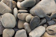 Slut upp av ovala stenar Royaltyfria Bilder