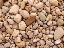 Slut upp av Rocks på jordningen Fotografering för Bildbyråer