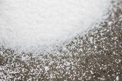 Slut upp av Sugar Crystals arkivfoton
