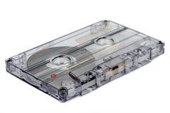 Slut upp av tappningljudbandkassetten Royaltyfri Foto