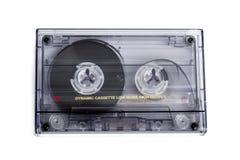 Slut upp av tappningljudbandkassetten Royaltyfria Bilder