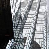Slut upp av utbytesstället - modern Boston skyskrapa Fotografering för Bildbyråer