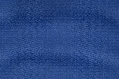 Slut upp bakgrundsmodell av blå textiltextur, textur för modell för abstrakt färgtextil netto Royaltyfri Fotografi